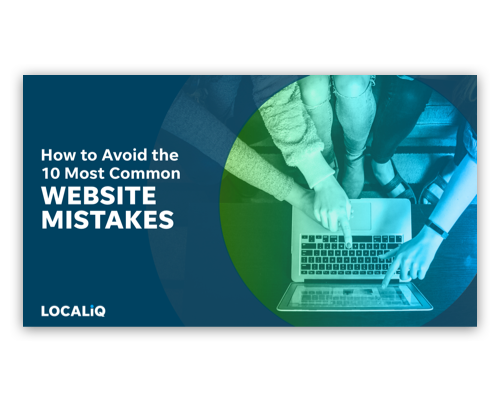 How to Avoid the 10 Most Common Website Mistakes