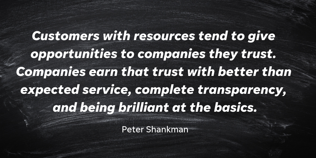Peter Shankman is a best-selling author, entrepreneur, and futurist. He believes that building trust is key for businesses.