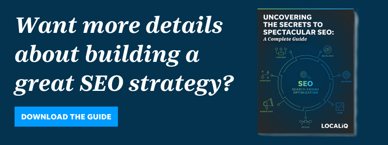 Download the LOCALiQ guide to building a great SEO strategy.