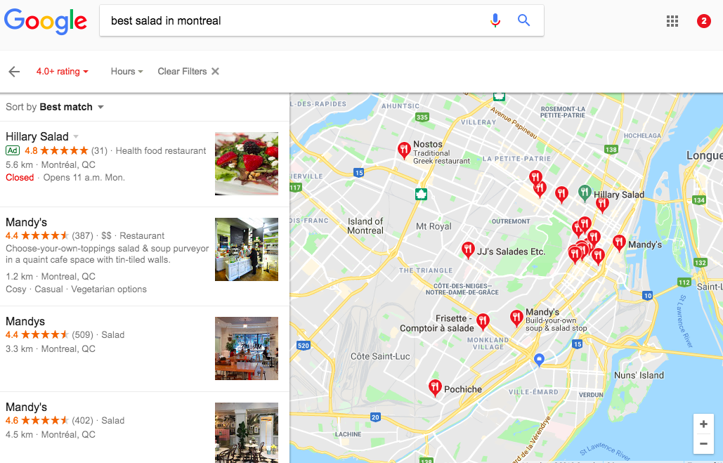 Online Google reviews play a vital role in your local search visibility. Highly reviewed businesses tend to show up the best.
