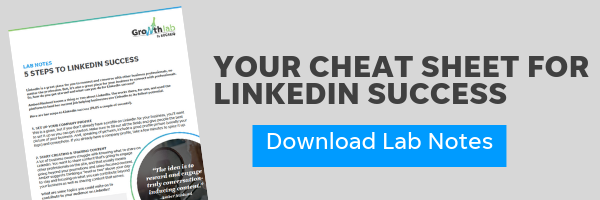 Lab Notes - LinkedIn Tips