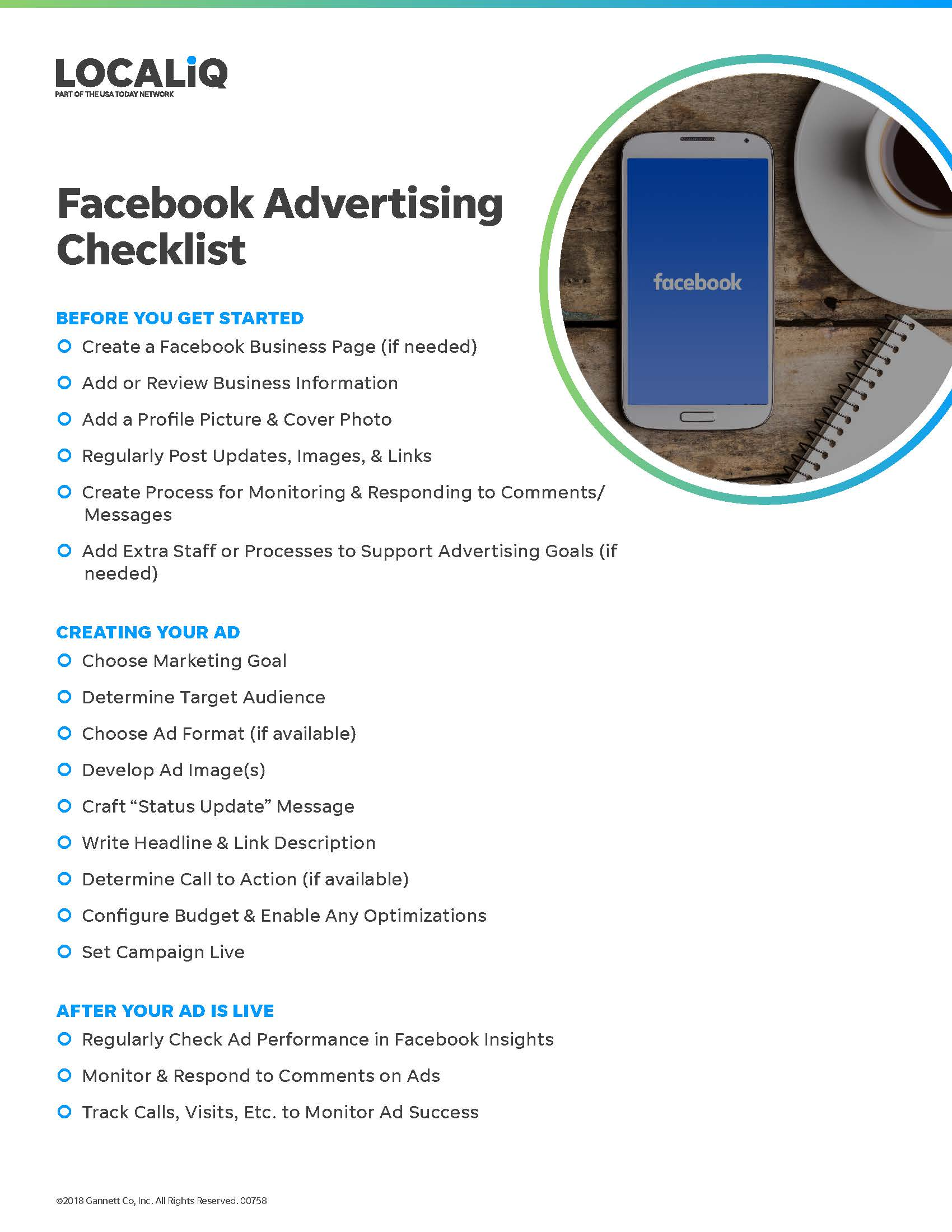 Getting Started: Your Facebook Advertising Checklist