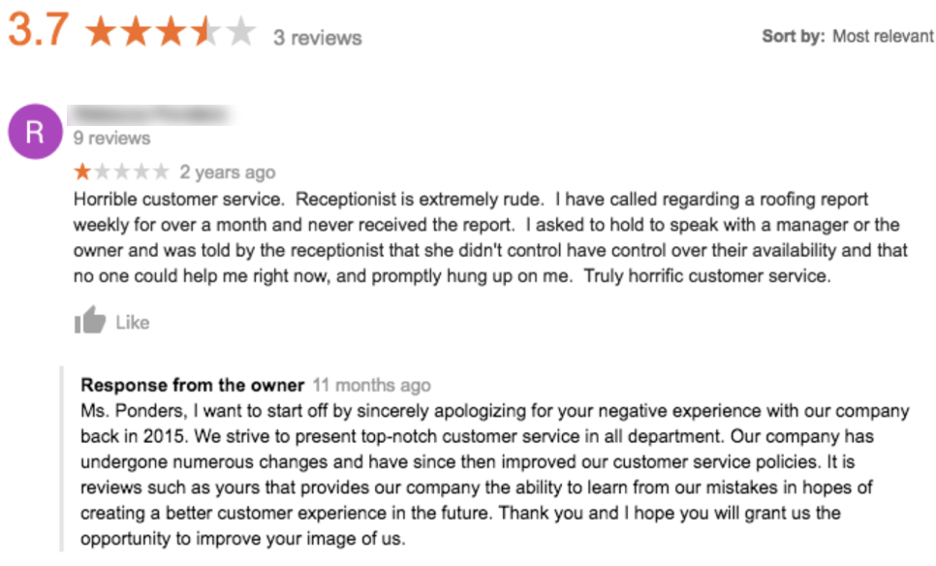How to Respond to Google Reviews (with Examples) Apology
