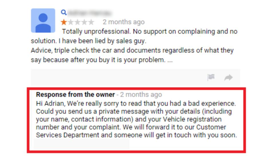 Come rispondere alle recensioni di Google (con esempi) offline