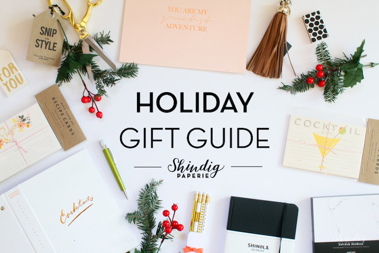 Here's an example of a holiday gift guide that is designed well.