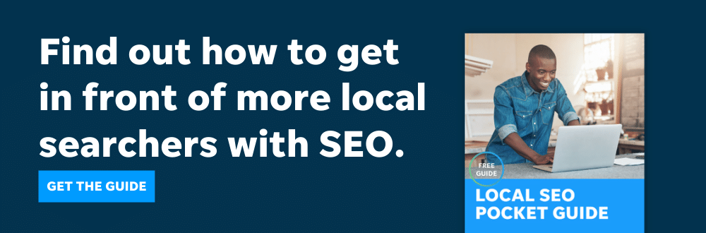 Get this local SEO guide from LOCALiQ to get your business in front of more local searchers.
