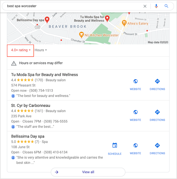 Good reviews are important if you want to rank in the google local pack.