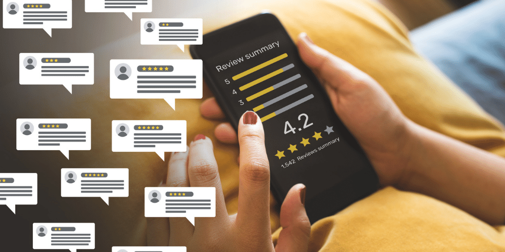 Online reviews matter for small businesses and should be embraced.