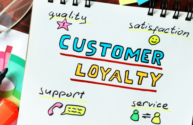 Having competitors can build customer loyalty for your business because customers are choosing you over competitors reguarly.