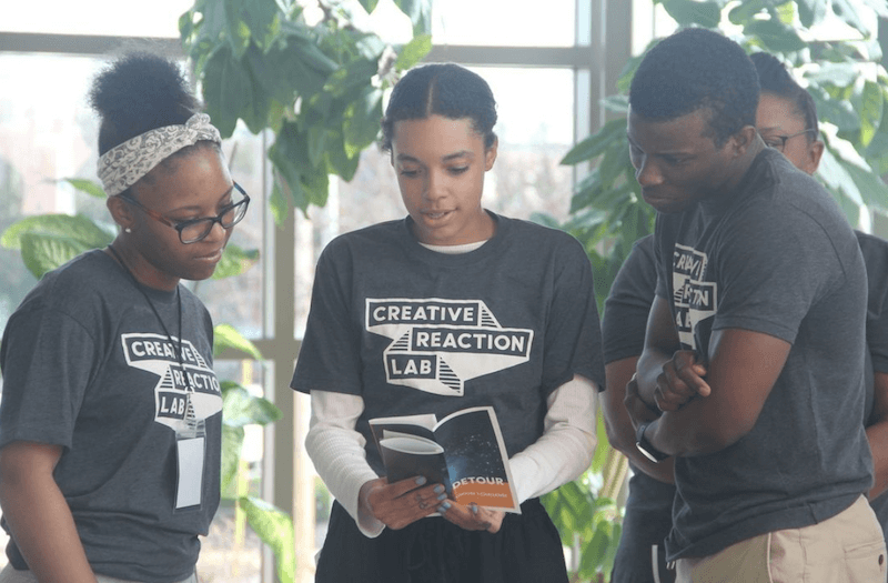 Creative Reaction Lab is building a youth-led, community-centered movement of a new type of Civic Leader: Redesigners for Justice.