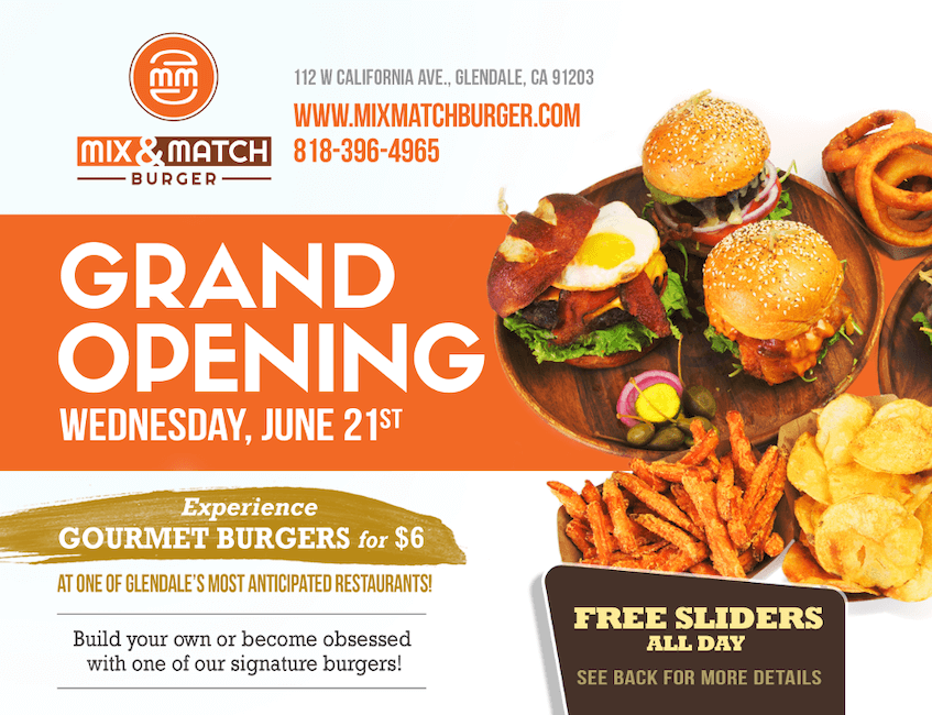 Everyone loves free food and free music, so by incorporating both into your grand opening, you can make it a success.