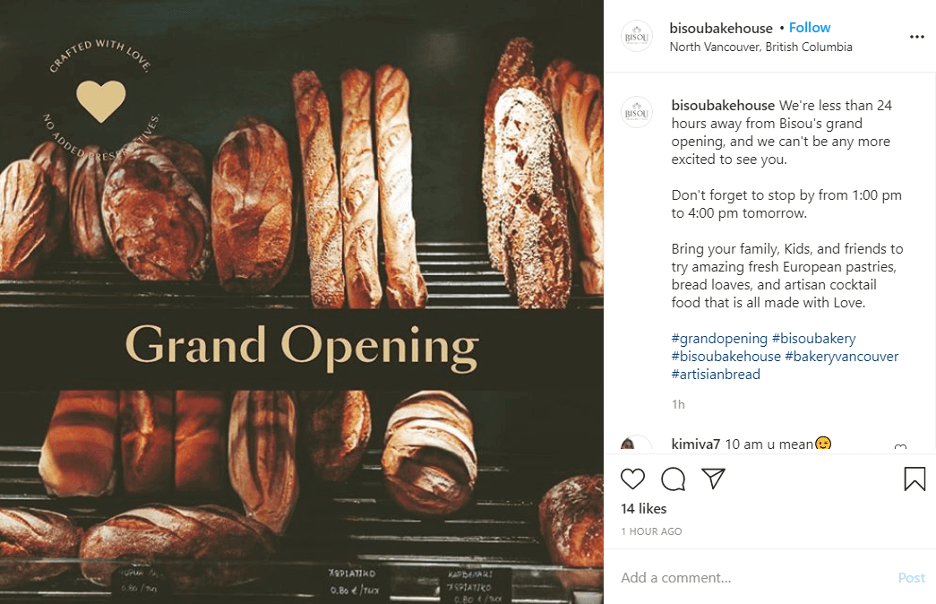 The best way to promote your new business is through a successful grand opening.