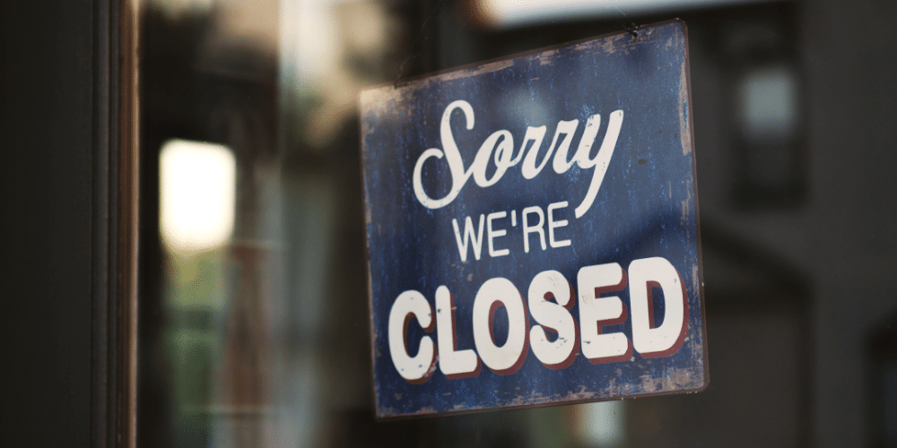 Many local businesses have had to close due to the coronavirus pandemic, and research indicates they may close for good if support doesn't pick up.