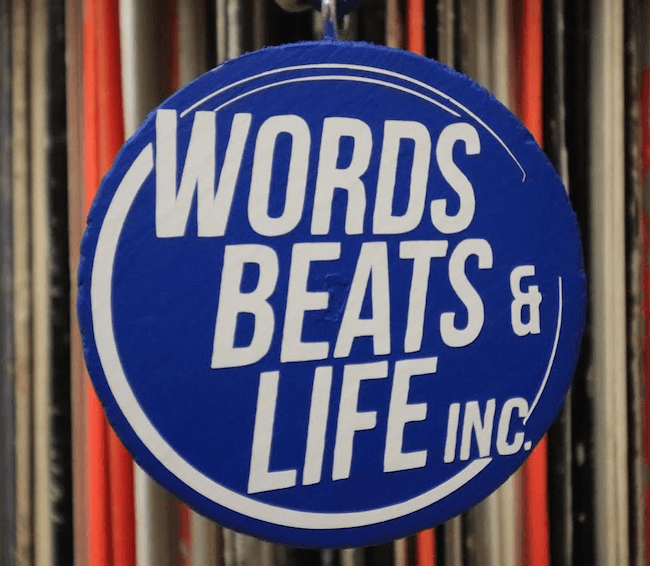 Words Beats & Life is dedicated to teaching, producing and promoting hip hop culture.
