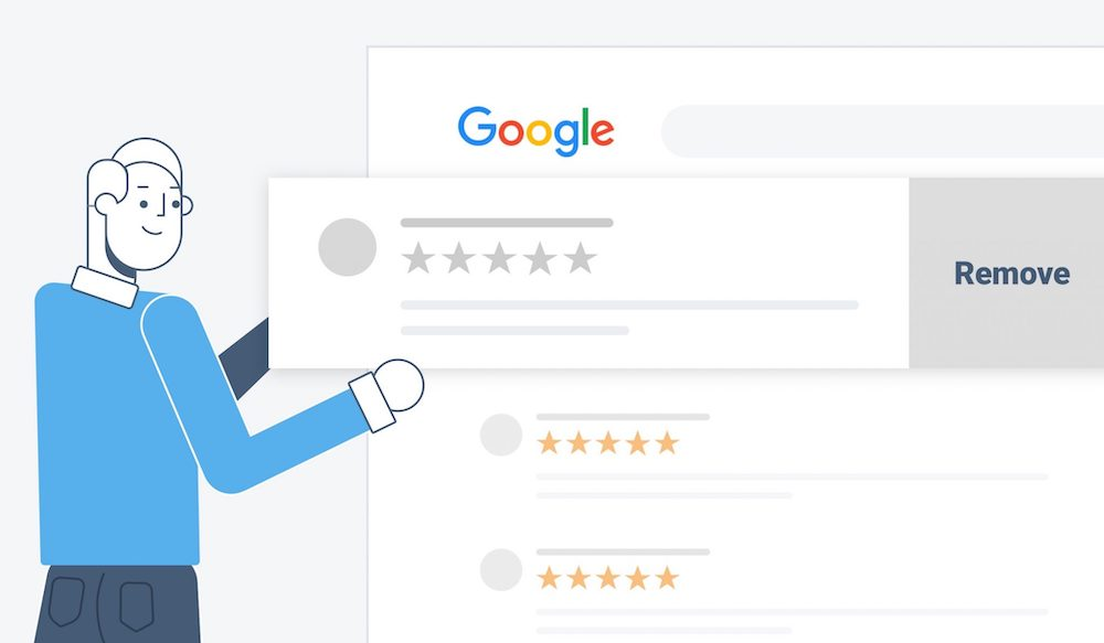 There are times when you can delete a google review.
