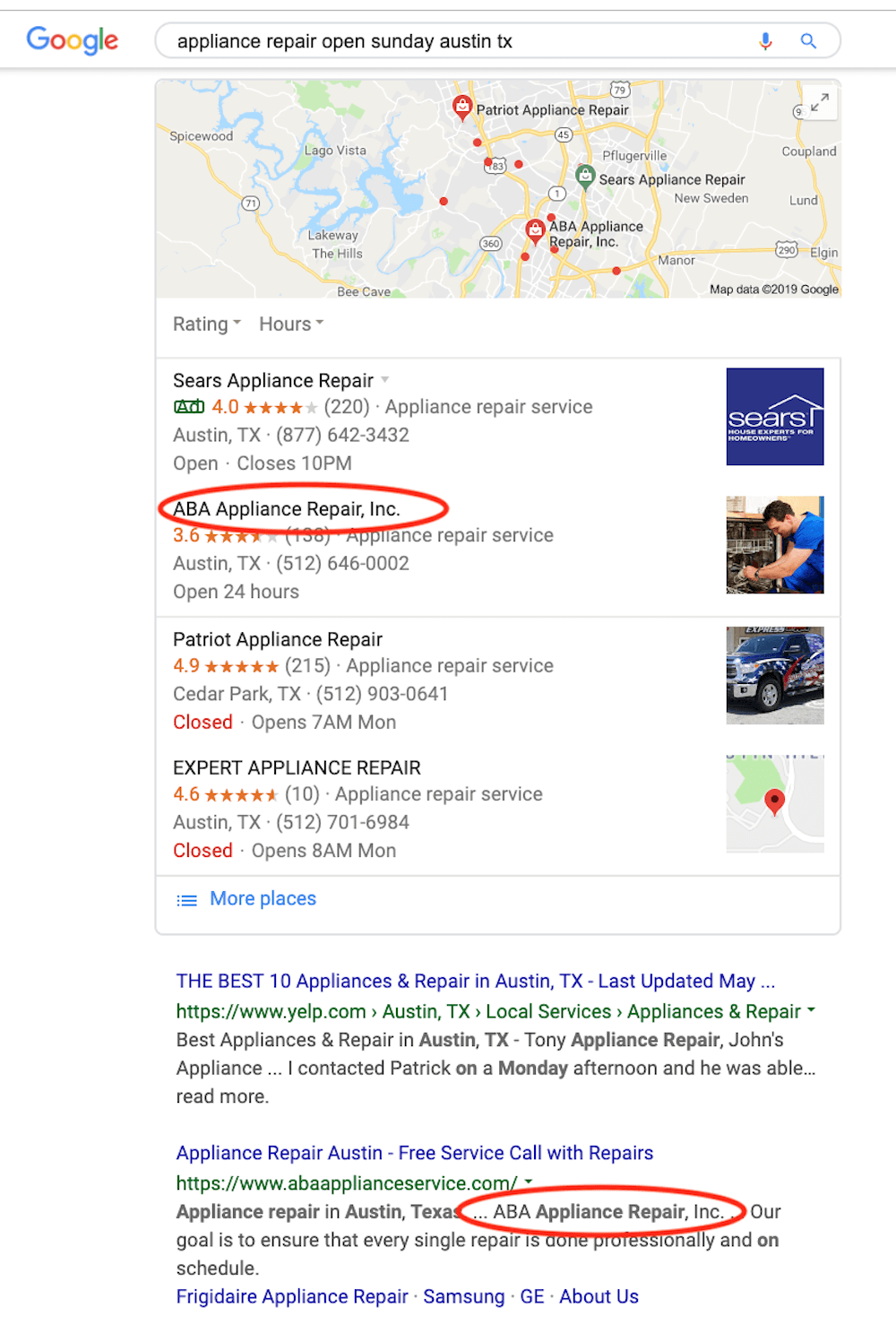how to get free advertising on google local seo