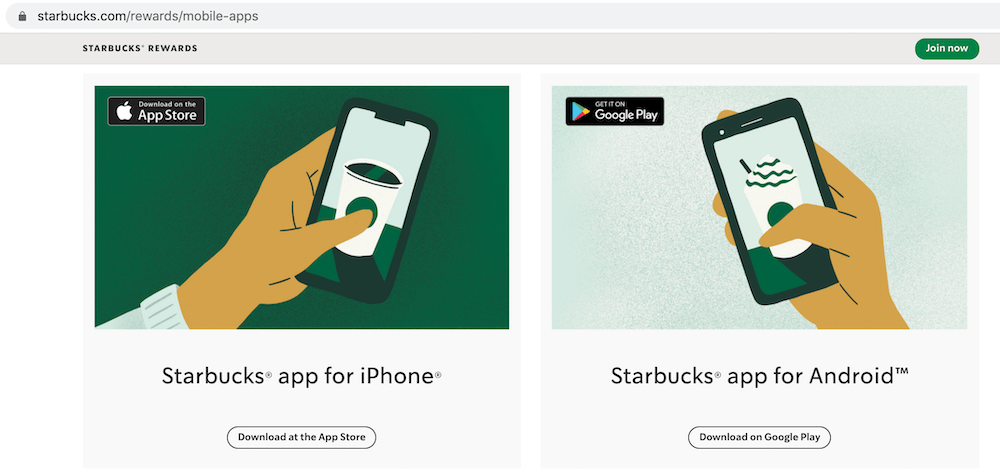 how to market an app - create an app-specific landing page