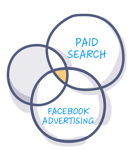 paid search + facebook ads benefits