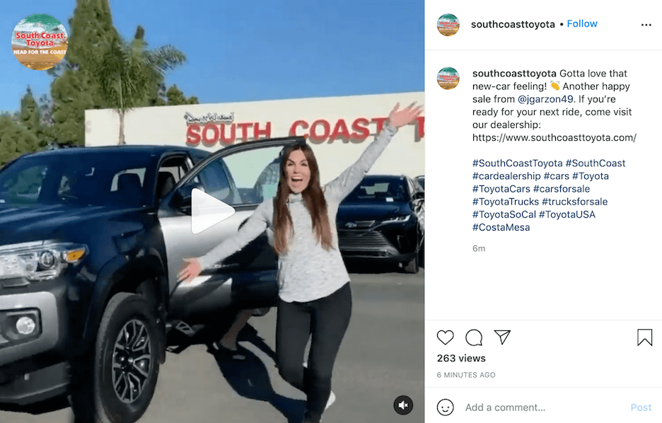 how to use hashtags - automotive hashtags