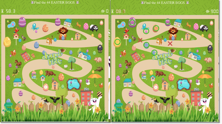 easter promotions and marketing ideas - easter egg hunt interactive