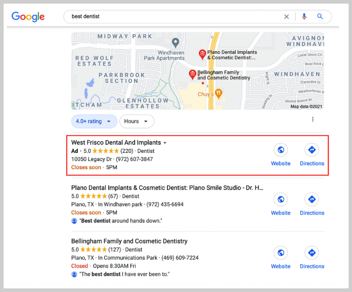 local ppc - local ppc ads in google 3-pack