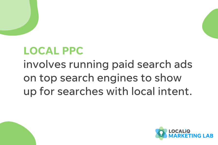 what is local ppc - ppc definition