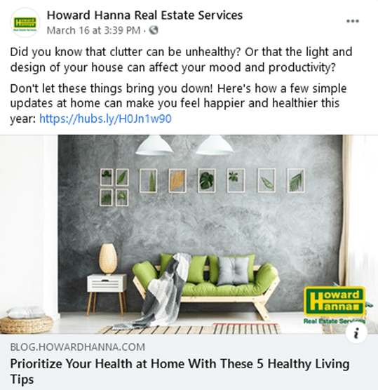 real estate facebook ads- build trust with content marketing