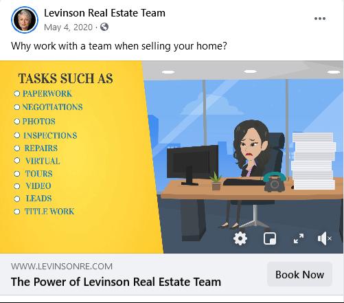 real estate facebook ads - video ads