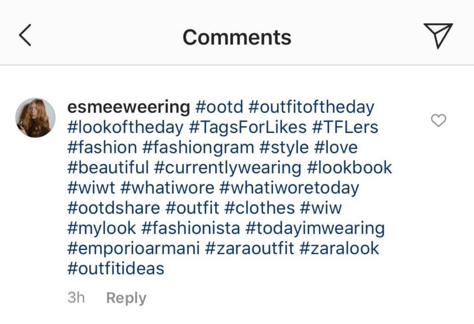 social media management - use hashtags