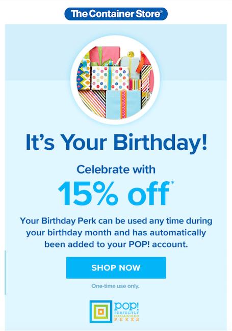 happy customer ideas - send birthday emails