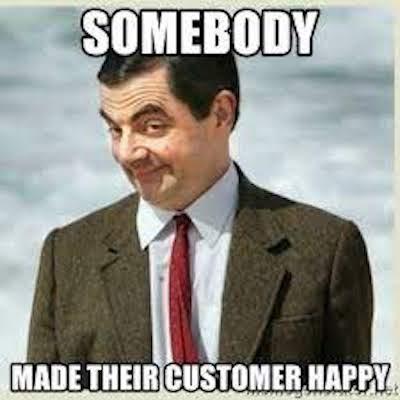 happy customer ideas