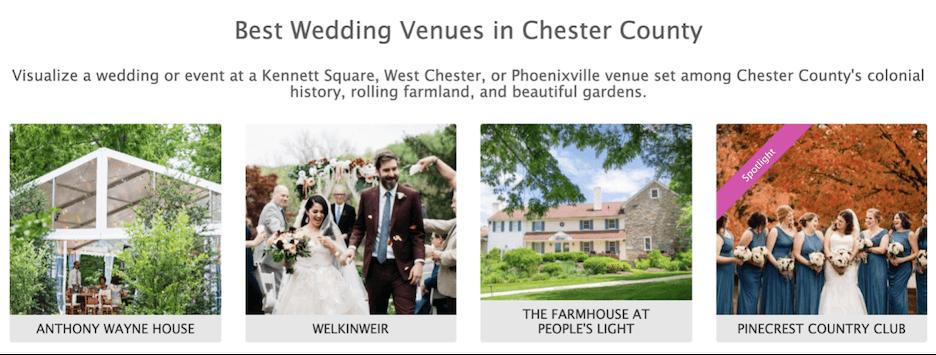 hospitality marketing 2021 - promote wedding packages
