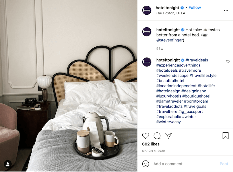 hospitality marketing 2021 - promote weekend stays
