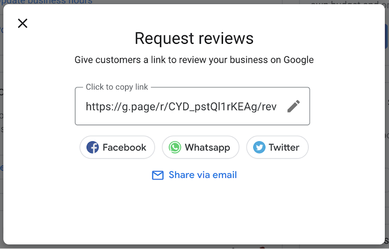 how to claim a business on google - ask for google rveiews