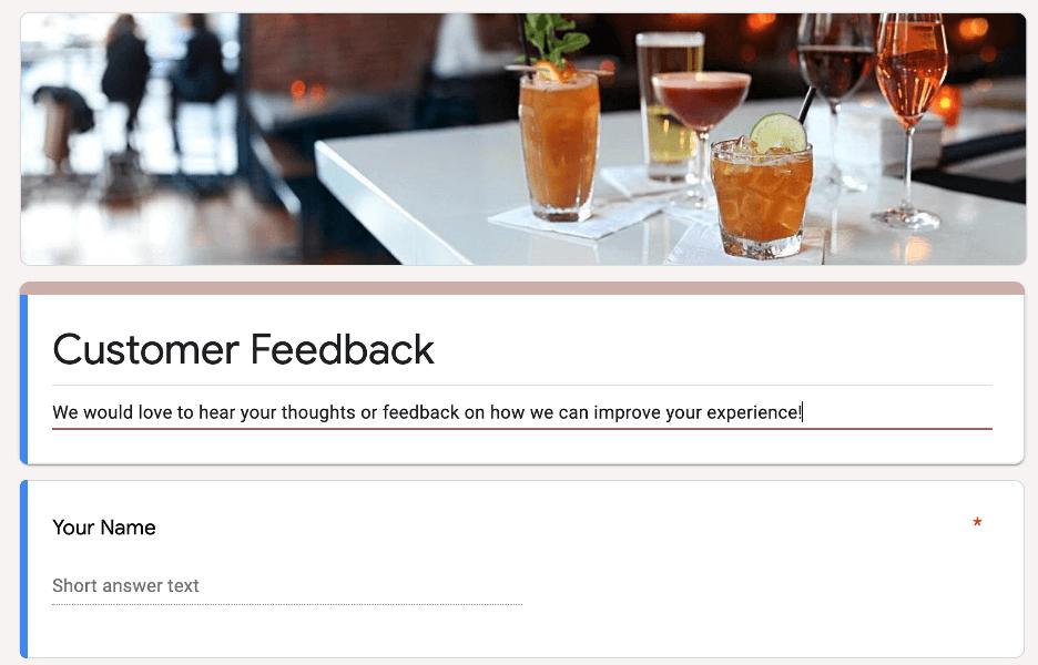 restaurant marketing ideas - address customer feedback