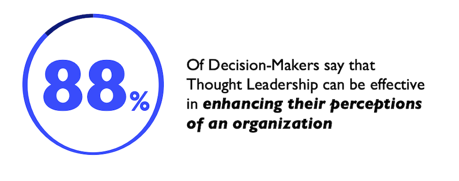 benefits of thought leadership strategy
