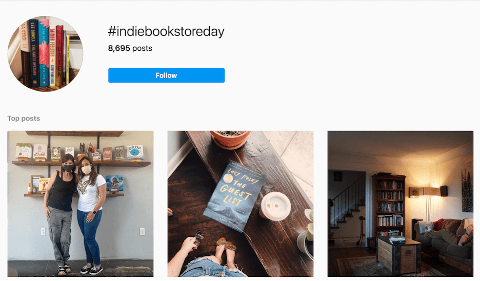 what to post on instagram - hashtags example
