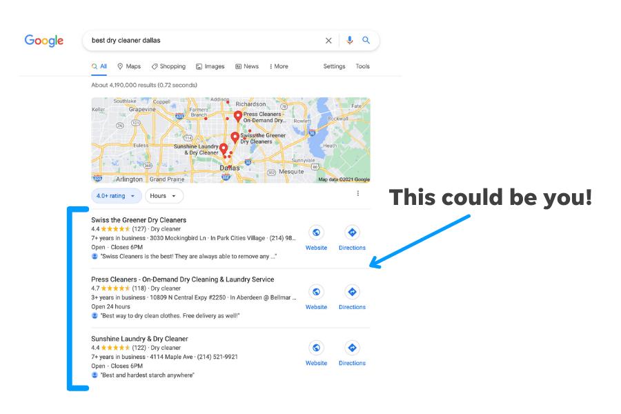 why claim a listing on google
