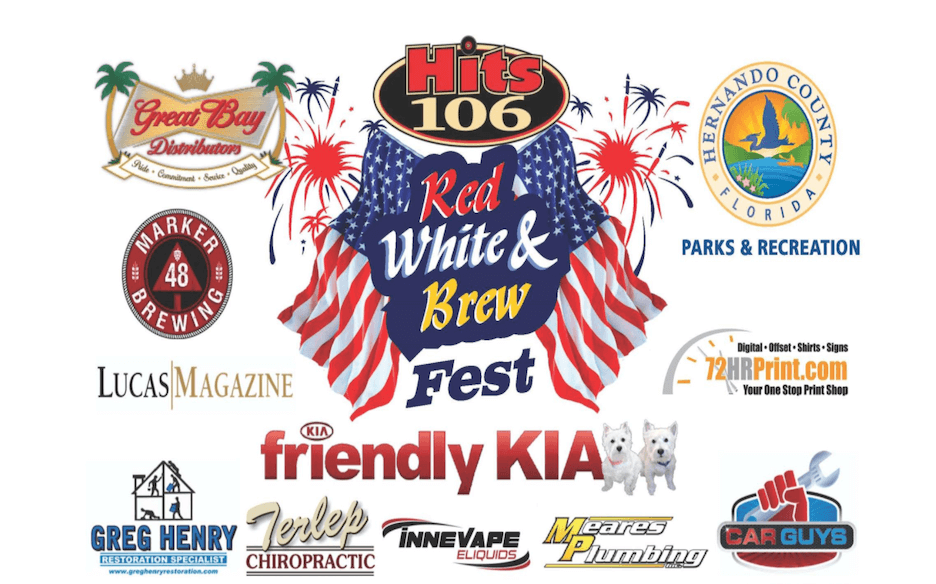 4th of july marketing slogan - red white and brew