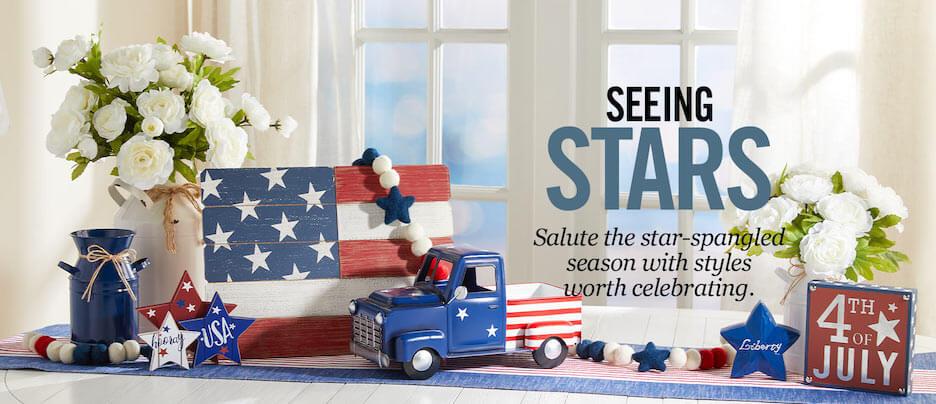 4th of july marketing slogans - seeing stars - hobby lobby