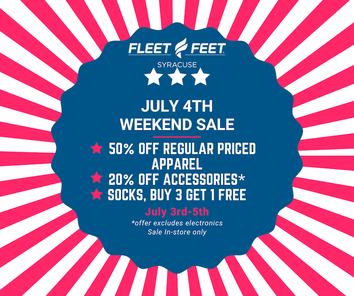 4th of july promotion ideas - buy 3 get 1 free