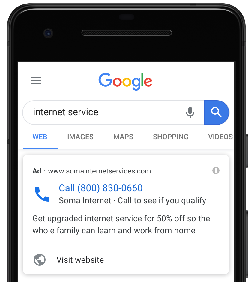 mobile marketing strategies - mobile search