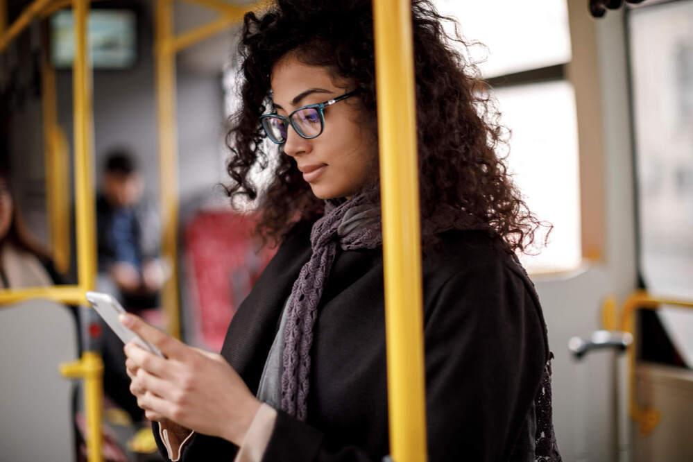 mobile marketing strategies-mobile user on the go