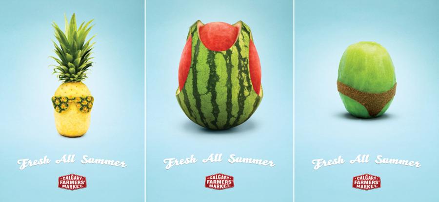 summer advertising - summer display ad example
