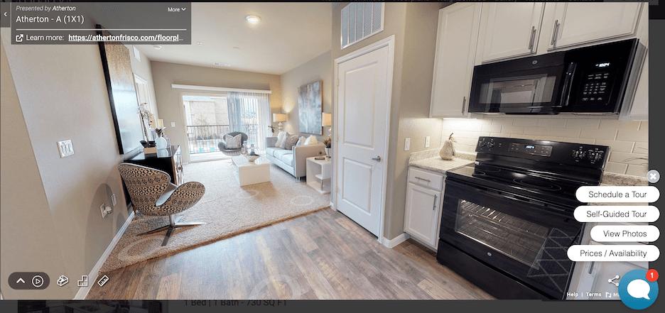 apartment marketing ideas - video tour and virtual tour