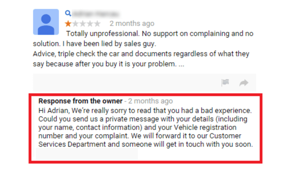 bad reviews - how to respond to bad reviews