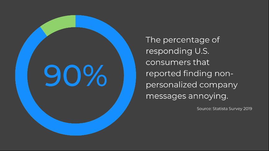 customer retention strategies - make it personal