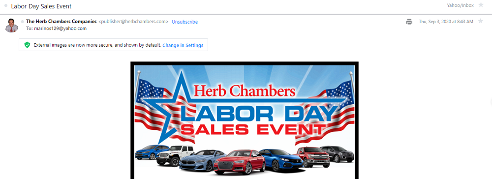 email subject lines - august holiday email subject line email example