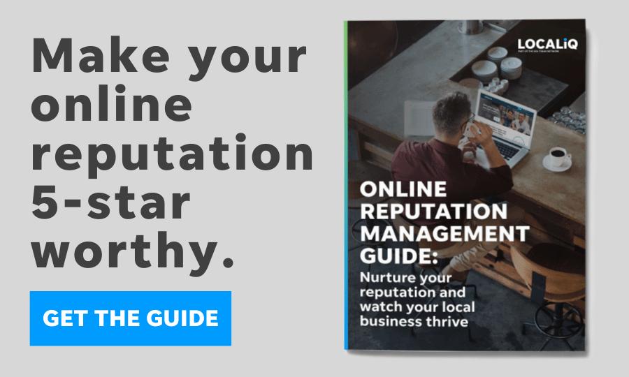 online reputation management guide - localiq