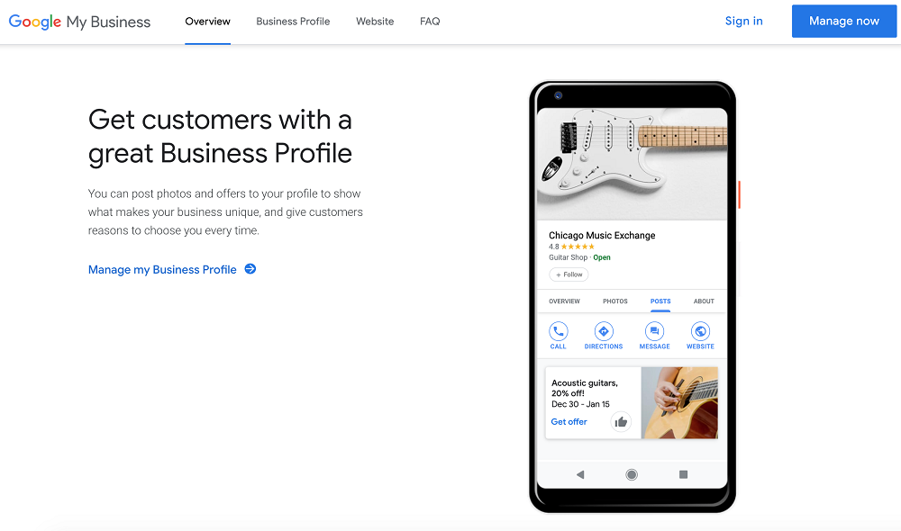 what is google my business - google my business benefits